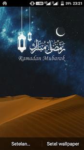 Ramadan Mubarak Live Wallpaper - náhled