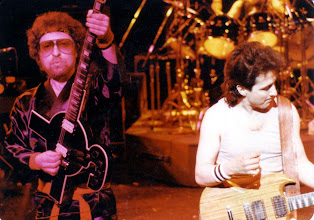 """Photo: Eric Bloom and Donald """"Buck Dharma"""" Roeser of Blue Oyster Cult."""