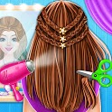 Braided Hairstyle Fashion Stylist - Salon Games icon
