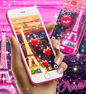 Paris live wallpaper - náhled