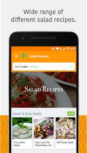 10000+ Salad Recipes Free - náhled