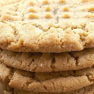 Truffle Stuffed Amaretto Peanut Butter Cookies