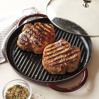 Perfect Steam-Grilled Pork Chops.