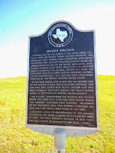 Photo: Mound Prairie marker, Caddo Mounds site 10/25/14