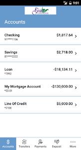 Grant County Bank Mobile Bank screenshot 2