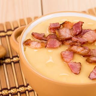 Instant Pot Loaded Potato Soup.