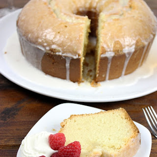 Peach Bellini Pound Cake.
