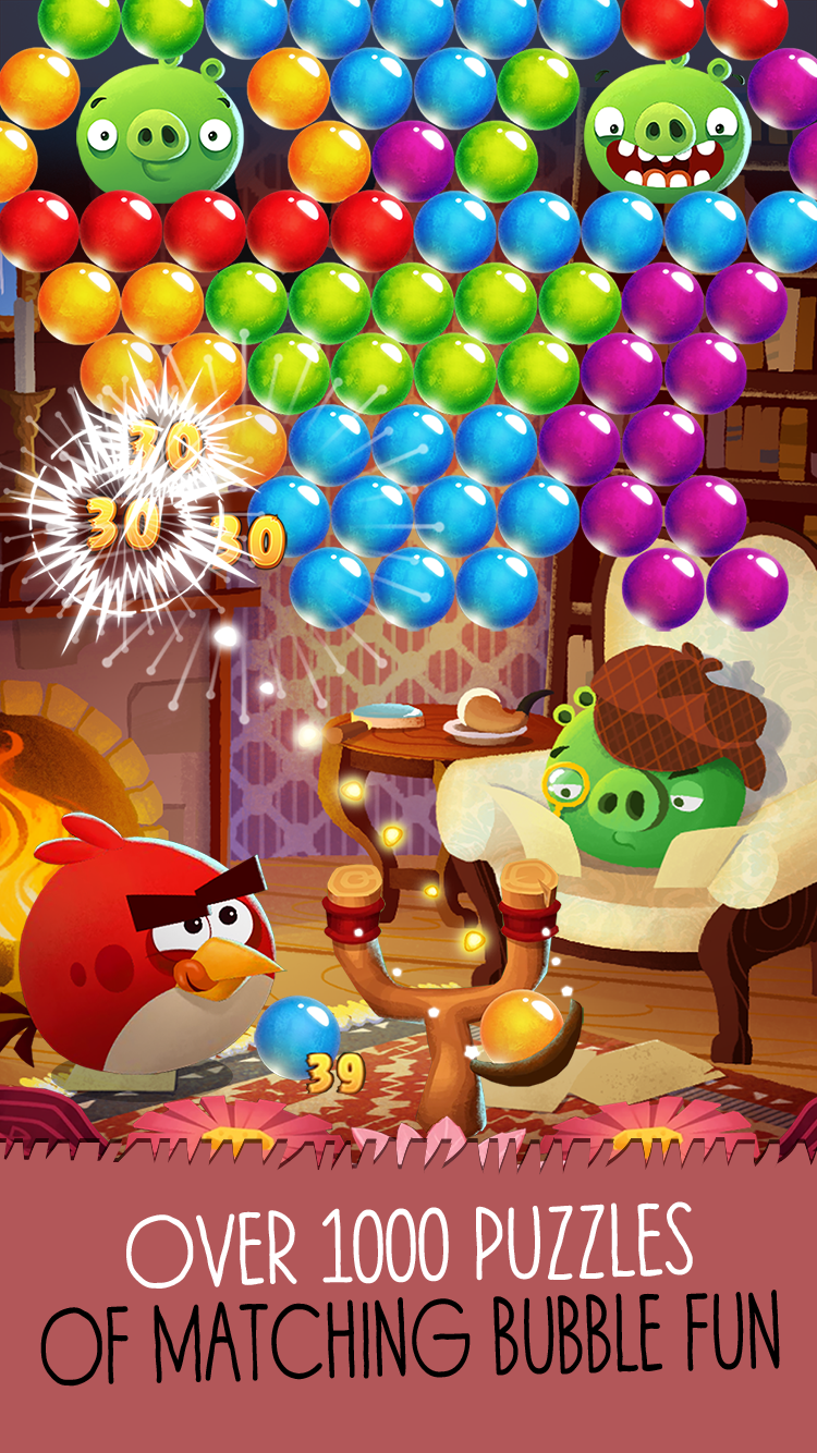 Angry Birds POP Bubble Shooter screenshot #1