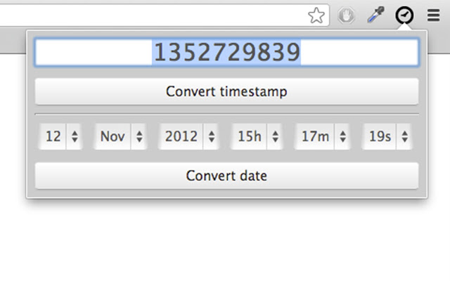 Convert timestamp to date in Perth