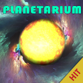 Planetarium - try gravity game
