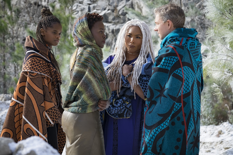 Basotho blankets on the big screen in 'Black Panther'.