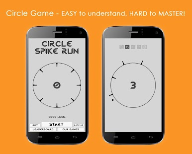 Circle Spike Run- screenshot thumbnail