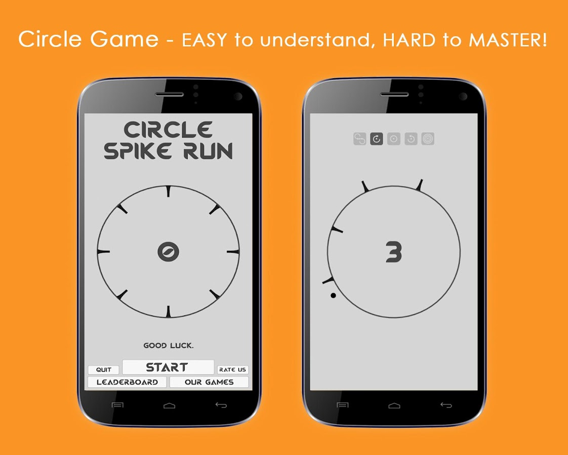 Circle Spike Run- screenshot