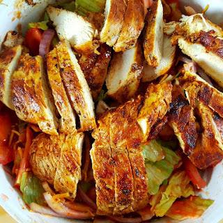 Chicken Taco Texas Salad Recipe