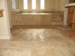 Photo: Another view of the stone floor