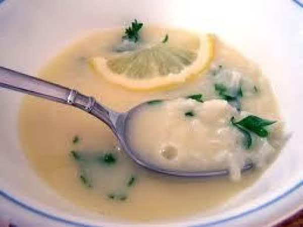Egg-lemon Soup (greek Soup) Recipe