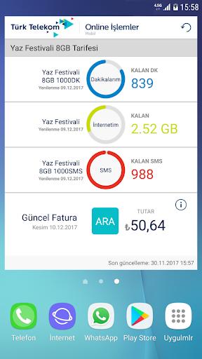 Tu00fcrk Telekom Online u0130u015flemler 6.1 screenshots 4