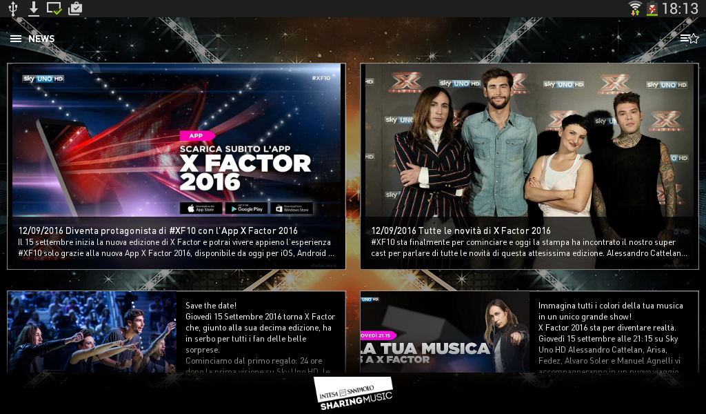 X Factor 2016- screenshot