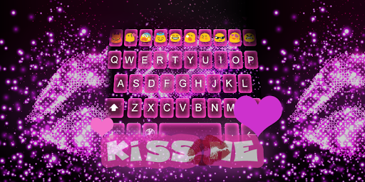 Emoji keyboard-Kiss Me