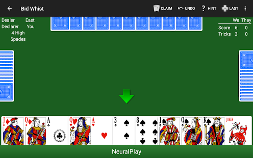 Bid Whist by NeuralPlay- screenshot thumbnail