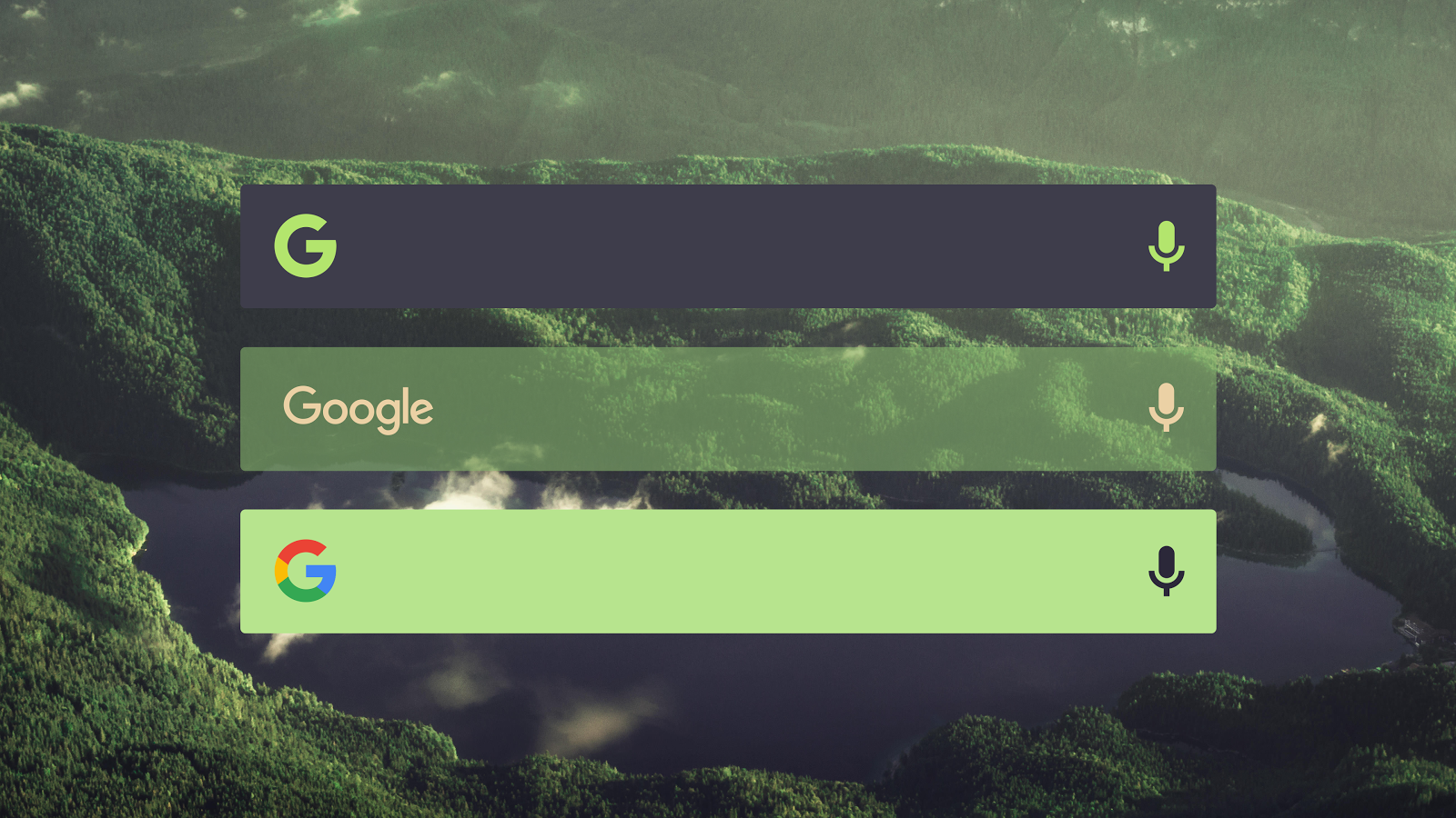 Custom Search Bar Widget CSBW- screenshot