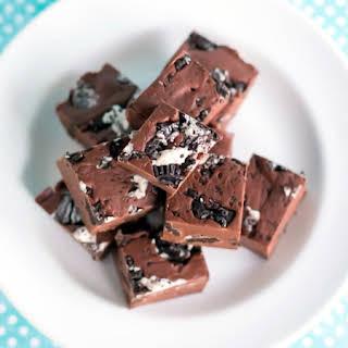 Chocolate Cookie Fudge.