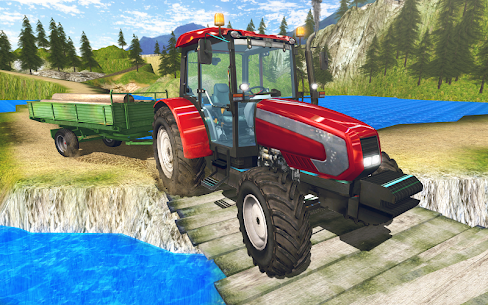 Tractor Driver Cargo 3D 3