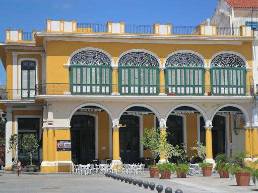 havana-taberna.jpg - Taberna de la Muralla in Old Havana's Plaza Veija is known for the best beer in Havana, Cuba.