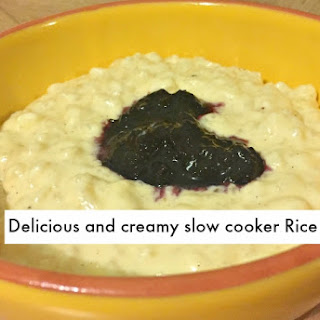 Slow Cooker Rice Pudding Recipe