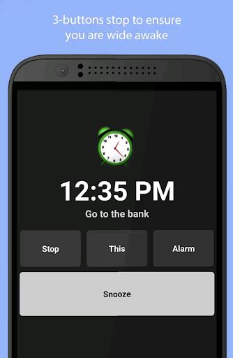 Simple Alarm Clock Free screenshot 3