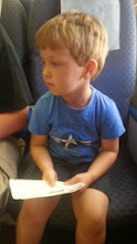 Photo: Waiting for the Conductor. (He would not smile.)