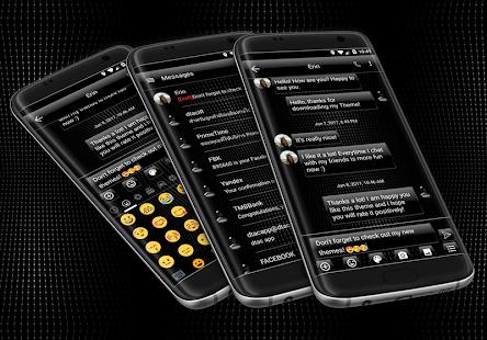 Dusk Black SMS Zprávy - náhled