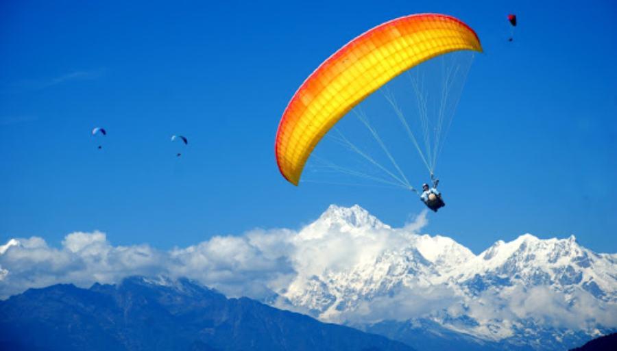 Paragliding Sikkim