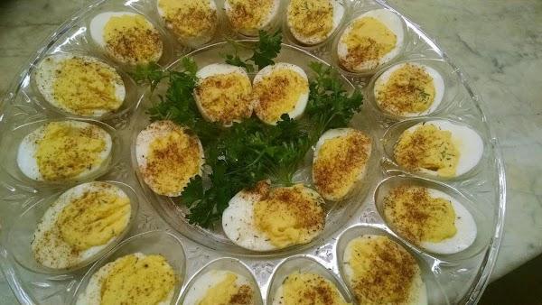 Ellen's Mother's Deviled Eggs Recipe