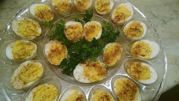 Ellen's Mother's Deviled Eggs