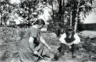 Photo: Ivan Larssons. Fina och Ivan Larsson 1920