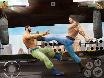 Bodybuilder Fighting Games: Gym Wrestling Club PRO 5