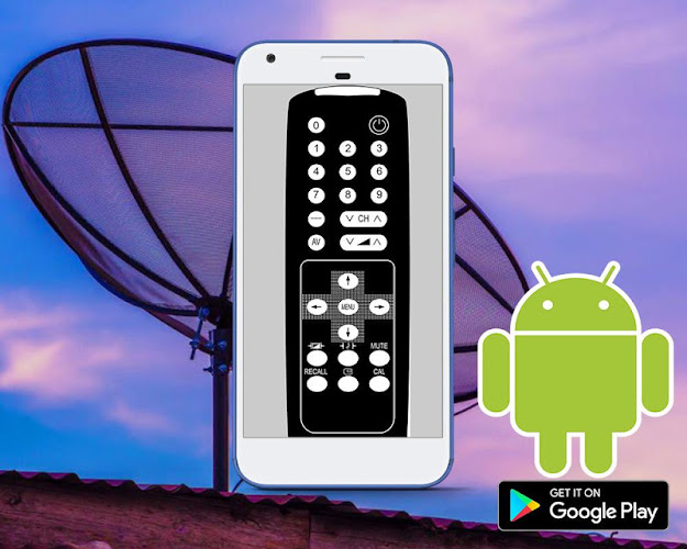 REMOTE TV DISH/DTH UNIVERSAL