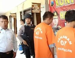 Oknum Kepala Desa  Ditangkap Polisi