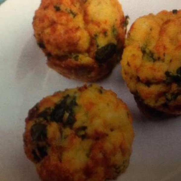 Spinach Ratatouille Strata Muffins Recipe