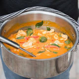 Thai Pumpkin Chicken Curry.