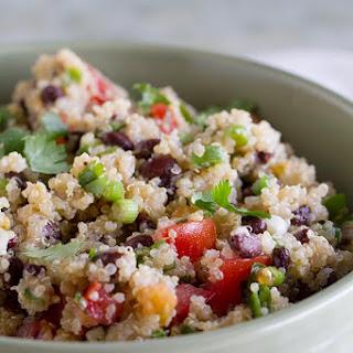 Tomato and Black Bean Quinoa Salad.
