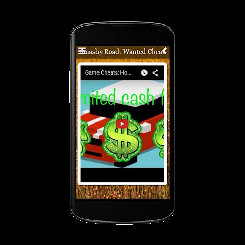 android Smashy Road Wanted Cheats Free Screenshot 1