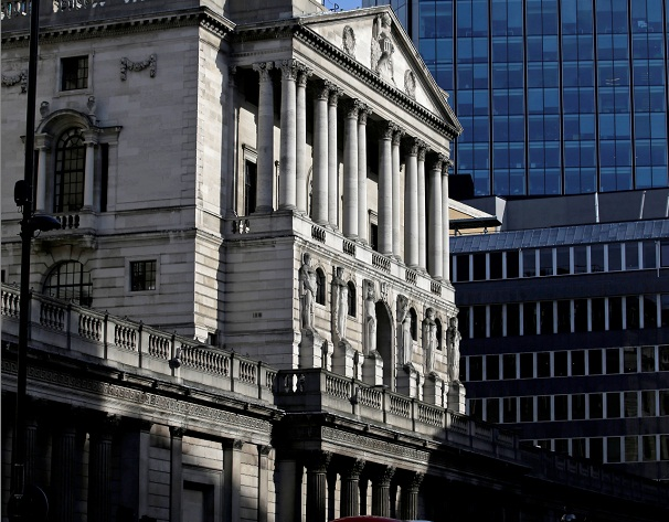 Tthe Bank of England in London. Picture: BLOOMBERG