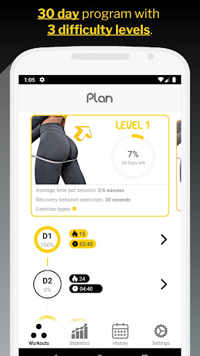 Image of 30 Day Butt & Leg Challenge 1.0.6 1
