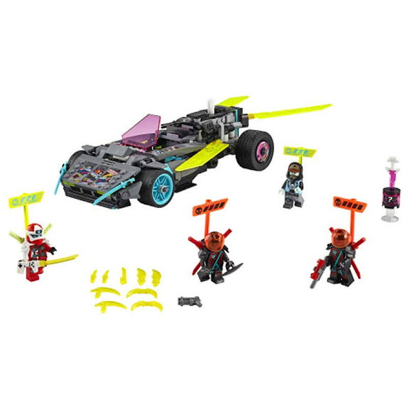 Contenido de Lego® 71710 Coche Ninja Tuneado
