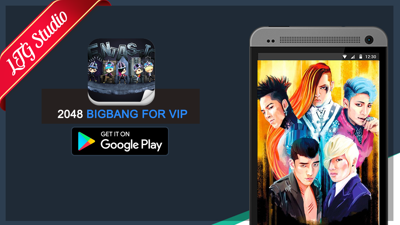 Google theme kpop exo - 2048 Bigbang Kpop Game Screenshot