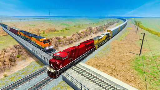 Train Driver Simulator 3D  captures d'écran 2