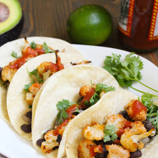 Vegan Cauliflower & Black Bean Tacos