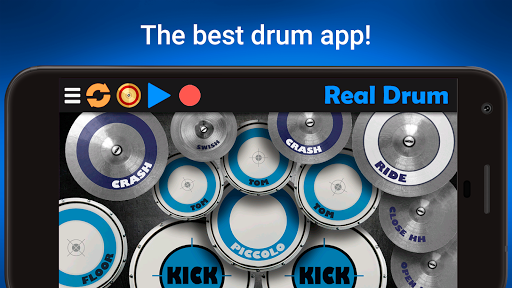 Real Drum - The Best Drum Sim 8.12 screenshots 2